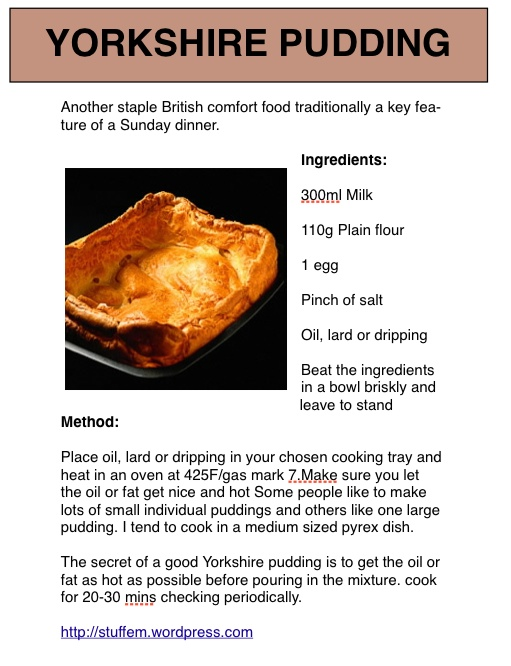 YORKSHIRE PUDDING RECIPE FOOD NETWORK - 7000 Recipes