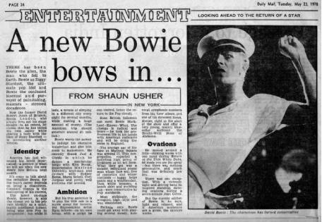 Bowie Concert Review 78