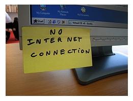 No Internet!