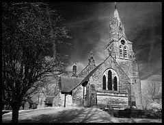 Church in infra red
