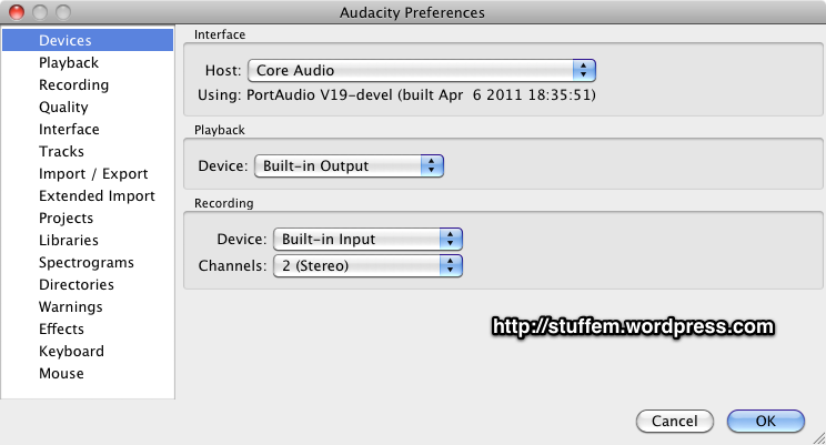 Using Audacity To Record Audio Streams And System Audio – Up